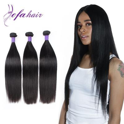 Smooth and silky brailian human hair straight with full ends